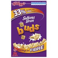 Kellogg's Sultana Bran Buds Breakfast Cereal 450g