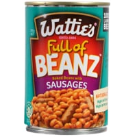 Wattie's Baked Beans With Sausages 300g
