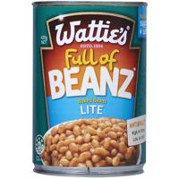 Wattie's Baked Beanz In Tomato Sauce Lite 420g