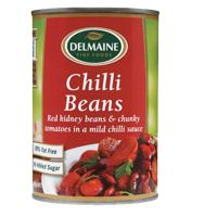 Delmaine Chilli Beans 420g