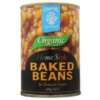 Chantal Organics Organic Baked Beans In Tomato Sauce 400g