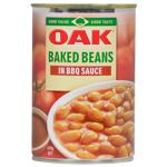Oak Baked Beans In BBQ Sauce 420g