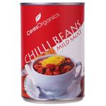Ceres Organics Mild Sauce Chilli Beans 425g