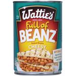 Wattie's Baked Beans Cheesy Tomato 420g