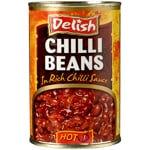 Delish Hot Chilli Beans 415g