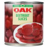 Oak Sliced Beetroot 450g
