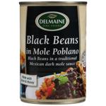 Delmaine Black Beans In Mole Poblano 400g