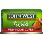 John West Mild Indian Curry Tuna Tempters 95g