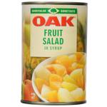 Oak Fruit Salad In Syrup 410g