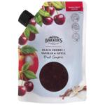 Barker's Black Cherry Vanilla Apple Fruit Compote 500g
