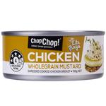 Chop Chop Shredded Wholegrain Mustard Chicken With Lite Mayo 160g