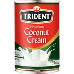 Trident Premium Coconut Cream 165ml