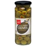 Pams Stuffed Green Olives 450g