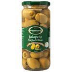 Delmaine Jalapeno Stuffed Olives 480g