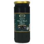Delmaine Spanish Pitted Black Olives 450g