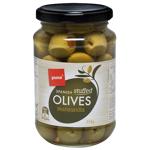 Pams Stuffed Green Olives 354g
