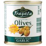 Fragata Garlic Stuffed Olives 200g