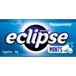 Wrigley's Eclipse Peppermint Sugarfree Mints 34g