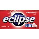 Wrigley's Eclipse Strawberry Sugarfree Mints 34g