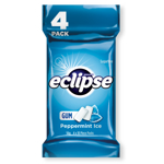 Wrigley's Eclipse Ice Peppermint Sugarfree Gum 4pk