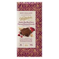 Whittaker's Hawke's Bay Black Doris Plum Almonds Chocolate 100g