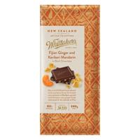 Whittaker's Fijian Ginger & KeriKeri Mandarin Chocolate 100g