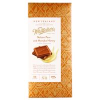 Whittaker's Nelson Pear & Manuka Honey 100g