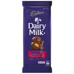 Cadbury Dairy Milk Fruit & Nut Chocolate Block 180g