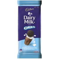 Cadbury Dairy Milk Oreo Vanilla Chocolate Block 162g