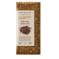 Whittaker's Single Original Samoan Cacao Chocolate 100g