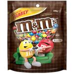 M&M's Milk Chocolate Jumbo Bag 380g