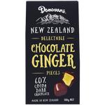 Donovans Delectable Dark Chocolate Ginger Pieces 180g
