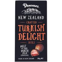 Donovans Turkish Delight Milk Chocolate Bites 180g