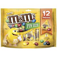 M&M's Peanut Funsize Confectionery 162g