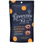 Donovans Milk Chocolate Ultimate Peanut Clusters 150g