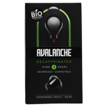 Avalanche Decaffeinated Dark Roast Coffee Capsules 10 Pack 10pk