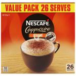 Nescafe Strong Cappucinno Sachets 26ea