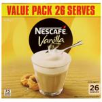 Nescafe Vanilla Latte Sachets 481g