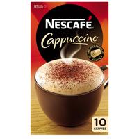 Nescafe Cafe Menu Coffee Cappuccino 10pk