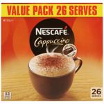 Nescafe Cappuccino Sachets 26pk