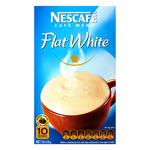 Nescafe Cafe Menu Coffee Flat White 10pk