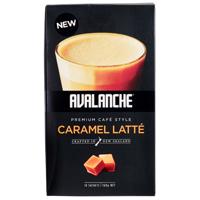 Avalanche Cafe Style Caramel Latte 10pk