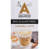 Avalanche Caramel Latte 99% Sugar Free Sticks 10pk