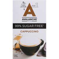 Avalanche Cappuccino 99% Sugar Free Coffee Sticks 10pk