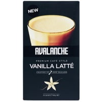 Avalanche Cafe Style Vanilla Latte 10 Pack