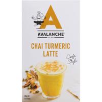 Avalanche Cafe Style Chai Turmeric Latte Sticks 10pk