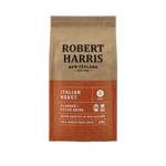 Robert Harris Italian Roast Plunger Filter Grind 100% Arabica Fresh Coffee 200g