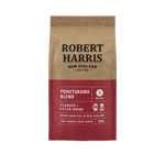 Robert Harris Pohutakawa Blend Plunger Filter Grind 100% Arabica Fresh Coffee 200g