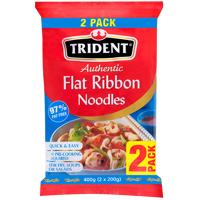 Trident Flat Ribbon Noodles 2pk