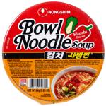 Nong Shim Spicy Kimchi Bowl Noodle Soup 86g